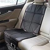 IOMOY Autositzauflage zum Schutz vor Kindersitzen geeignet, Premium Auto-Kindersitzunterlage Kindersitz Unterlage rutschfest Pflegeleicht und Sicher Autositzschutz in universeller Passform