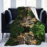Shelly The Son of Bigfoot Arlo Woodstock beliebte Kuscheldecken aus Plüsch, besonders weich und flauschig, Oster-Sofa-Handtuch, Baumwolle, warm, 152,4 x 127 cm