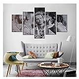 AZTeam Filme Poster Terence Hill Bud Spencer Wohnzimmer Dekor Home Wandkunst Dekor Bilder Leinwanddrucke Wandkunst-40X60 40X80 40X100Cm Kein R