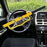 Lenkradkralle Absperrstange Auto Diebstahlsicherung Wegfahrsperre Lenkradsperre security tools Lenkradschloss PKW LKW mit 2 Sicherheitsschlüssel