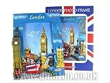 London Souvenir Upright Photo Frame (lackiert) Detaillierung London Sehenswürdigkeiten