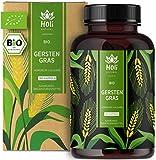 Holi Natural® BIO Gerstengras   180 Kapseln   3600mg je Tagesdosis   Nachhaltiger deutscher Anbau   Hochdosiert, vegan, ohne unerwünschte Zusätze (180 Kapseln)