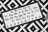St234tyet Alphabet-Schild, Zahlenschild, Abc-Schild, Spielzimmer-Schild, Kinderzimmer-Dekoration, Spielzimmer-Dekor, Klassenzimmer-Dekor, Lehrer-Geschenk