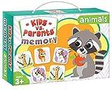 Kangur Passendes Tier-Spiel für Kinder, Gedächtnis-Training, Lernspiel, Familienspiel, Tiere, lustiges Spiel, Gehirn-Fokus-Training