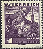 Prophila Collection Österreich 583 Gefälligkeitsentwertung 1934 Volkstrachten (Briefmarken für Sammler) Uniformen / Trachten