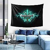 Min-Ecraft Wanddekoration, Wandteppich, exklusiver Wandbehang, Mehrzweck-Wandhintergrund Decke für Wohnzimmer, Schlafzimmer, Einheitsgröße