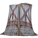 Flanell Decke Werfen 200X150cm,Super weich und bequem Warm Anti Pilling Decke,Leichte Decke für klimatisierte Zimmer,Liegen,Wohnzimmer,Schlafzimmer,Flugzeuge (Bauernhaus Holzgarage)
