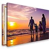 Ihr Foto auf Leinwand 60x40 cm SOFORT ONLINE Upload Ihr eigenes Bild auf Leinwand mit Keilrahmen - Wandbild mitWunschmotiv - Persönliches Kunstdruck