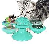 MENGHONGLLI Tierbedarf Spielzeug Haustier-Spielzeug-Katzen-Plattenspieler Lustige Katze Spielzeug Kratzer (Farbe : Lake Blue)