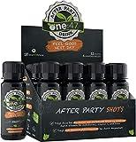 one:47® After Party Drink | 12 Shots | Basisches Elektrolyte Getränk + zusätzlich hochkonzentrierten Pflanzenextrakten, Vitaminen & Mineralstoffen | Feel good next day | Rehydration & Fitter sein