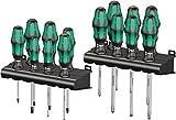Wera Kraftform Big Pack 300, Schraubendreher Set 14-teilig, 05105630001
