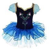 Lito Angels Anna gefroren Kostüm Bestickte Tulpe Ballett Tutus Dancewear Schick Kleid 6-7 Jahre Mehrfarbig