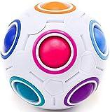 CUBIDI® Original Regenbogenball - Geschicklichkeitsspiel - Spannendes Knobelspiel für Kinder und Erwachsene Mädchen und Jungen ab 6 Jahren