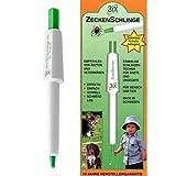 Zeckenschlinge Zeckenzange Zecken entfernen Stift Zeckenstift Geocaching 3ix