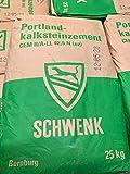 Zement/Portlandkalksteinzement von Schwenk, 25 kg