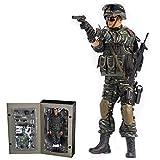 CT-Tribe Soldaten Figuren 1/6 - Armed Police, 30CM Soldaten Action Figur Modell Spielzeug, Militär Spielzeug Sammlung von Militärfans