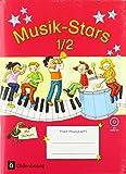 Musik-Stars - Grundwissen - 1./2. Schuljahr: Übungsheft mit Lösungen und Audio-CD