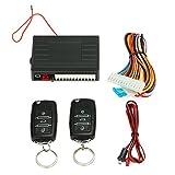 KKmoon Universal Auto Türschloss Keyless Entry System Zentralverriegelung Fernbedienung Kit mit 2 Klappschlüssel Kit 4