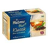 Meßmer Bio Klassik Schwarzer Tee feiner Geschmack hochwertig