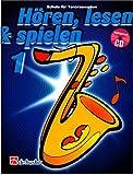 Hören, Lesen & Spielen für Tenorsaxophon - Band 1 - Schule für Tenorsaxophon von Jaap Kastelein, Michiel Oldenkamp mit CD - 56 Seiten ISBN: 9789043105859