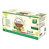 Herbal Tea Premix Combo Pack - Lemon Ginger Masala Chai - 30 x 10g Sachets - Pack of 3(90 Sachets) Sugar Free Alternative