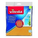 Vileda Fenstertuch, der Klassiker für strahlende Fenster, 3er Pack