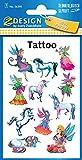 AVERY Zweckform 56390 Tattoo Kinder 11 Stück (Temporäre Tattoos Elfen, Kinder Tattoo wasserfest, Klebetattoos, Kindergeburtstag, Mitgebsel, Partyspiele Preise, Kinder zum Spielen, Tattoo Mädchen)