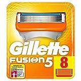 Gillette Fusion5 Rasierklingen Für Männer, Für Eine Kaum Spürbare Rasur 8Stück, Briefkastenfähige Verpackung (Verpackung kann variieren)