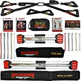 Bullworker® Power Pack - Cross Training Portable Home Gym for Total Body Fitness (Bow Classic, Steel Bow, ISO-FLO)