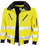 Gonschorek Qualitex Warnschutz Pilotenjacke gelb oder orange (M, warngelb)