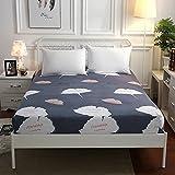 CYYyang Matratzen Topper Antiallergisch, Anti-Milben & Hygienischer Bettlaken Komplettpaket Einzelprodukt-2_120x200 + 25cm