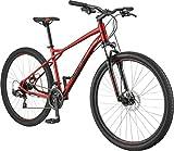 GT Aggressor Sport 29 Zoll Mountainbike Hardtail MTB Fahrrad 29' Mountain Bike (rot, 46 cm)