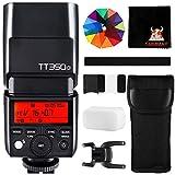 GODOX TT350O Kamerablitz Speedlite 2,4G HSS 1/8000s GN36 TTL Blitz blitzgeräte für Panasonic Lumix Olympus DSLR Kameras mit Standard Blitzschuh