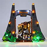 YOU339 LED-Kit für Lego 75936, Beleuchtungsset für Bausteinmodelle für Lego Jurassic World Jurassic Park: T. rex Rampage