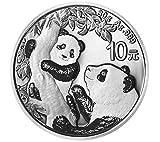 DEUTSCHER MÜNZEXPRESS 1 Unze China Panda Silbermünze 2021 | Feinsilber | Anlagemünze | sicher in Münzkapsel verpackt