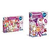 Clementoni Mein Parfümlabor, wohlriechende Düfte und Parfüms & Lippenbalsam, Spielzeug für Kinder ab 8 Jahren, Kosmetik zum Selbermachen, farbenfrohes Experimentierset für kleine Beauty-Fans