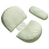 Schwangerschaftskissen Seitenschläfer Schwangerschaftskissen - Kissen für Schwangere , Weiches Bett Mutterschaftskissen Schlafkissen, Beule und Rückenstützkissen