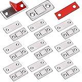 Türmagnet Selbstklebend Jiayi 10 Stück Tür Magnete für Schranktüren Ultra Dünn Möbel Magnetschnäpper Stark Magnetverschluss Schrank Moebel Magnete Türverschluss Schublade Möbelmagnete Türschließer