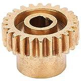 DAUERHAFT 0,8 Modul Messing 24 Zähne Kettenrad 6 mm D-Bohrung mit Stabiler Struktur Industrieroboter Hardware-Zubehör für den Austausch von Industrieroboterteilen