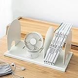 JenLn Desktop kreative DIY Speicherregal Flexible File Halter Büro Bücher Datei Divider Dokument Rack-Anzeige und Speicherung Bürogestelle Werden angezeigt (Color : B, Size : 19.3x17.5x34.2cm)