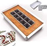 Aluminium Backformen,Kuchenform verstellbar Antihaft,Kuchenform,Zahlen Backform aus Aluminium,Kuchenform Groß Rechteckig,Zahlen und Buchstaben Kuchenform,DIY Backen Formen Set