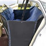 Designs Autositzbezug für Hunde Am besten für Hunde Aller Formen und Größen rutschfeste wasserdichte Stoffsitze, Anti-Schmutz- und Anti-Biss-Automatten,Blau,145cm*128cm*47cm