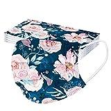 Rabbiter 10 Stück Erwachsene Einweg Schutz, Blumen Motiv, in vielen Farben, Unisex, für Herren Damen (G)