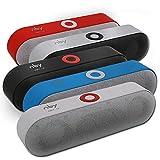 IYUNDUN Tragbarer Kabelloser Bluetooth-Lautsprecher, 3D-Stereo-Soundsystem, Surround-Sound, 10 Stunden Spielzeit, Für Zuhause, Im Freien (Color : Black)
