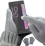 yayago Touchscreen Handschuhe kapazitiv Universalgröße (ca. M – L) – für Sony Xperia XA / Sony Xperia XA Dual