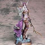 FUYUNDA World of Warcraft Figur Sylvanas Windrunner 23cm Untad Queen Statue Action Figur Charakter Modell Home Office Collectibles Spielzeug Dekoration Ornamente
