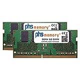PHS-memory 8GB (2x4GB) Kit RAM Speicher passend für Apple iMac Core i9 3.6GHz 27-Zoll (5K, Early 2019) DDR4 SO DIMM 2666MHz PC4-2666V-S