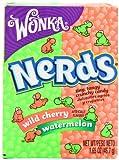 Wonka Nerds Wassermelone und Wildkirsche, 47 ml, 9 Stück