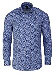 OLYMP 2058/54 Hemden, blau(royal), Gr. 42