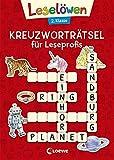 Leselöwen Kreuzworträtsel für Leseprofis - 2. Klasse (Rot) (Leselöwen Rätselwelt)
